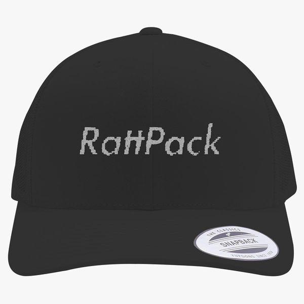 9b3414921fd RattPack Supreme Logo Retro Trucker Hat - Embroidery +more