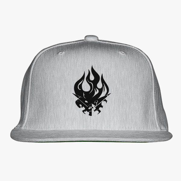 ad8d38e846809 gurren lagann logo 2 Snapback Hat - Embroidery +more