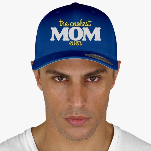 Coolest Hat Ever >> The Coolest Mom Ever Baseball Cap Embroidered Hatsline Com
