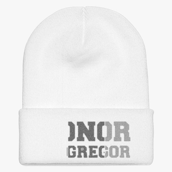 dcaa4083fbc CONOR MCGREGOR IRISH Knit Cap - Embroidery ...