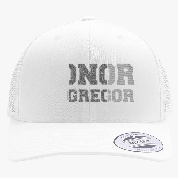12a769fb2e219d CONOR MCGREGOR IRISH Retro Trucker Hat (Embroidered) | Hatsline.com