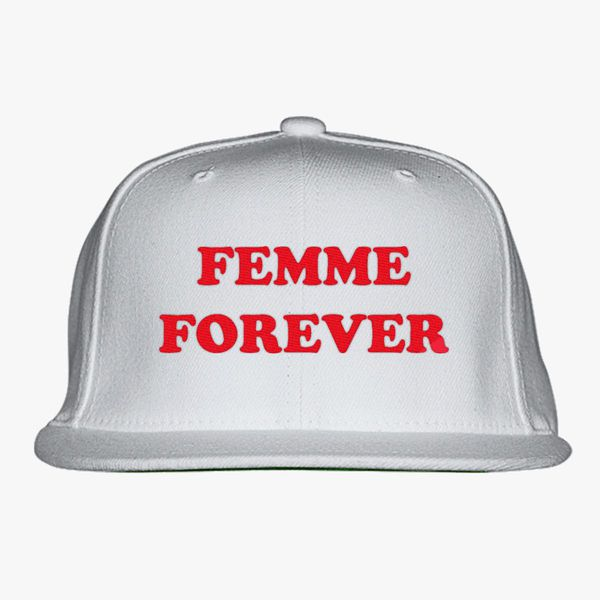 730466990fe Femme Forever - Feminist Women Snapback Hat - Embroidery +more
