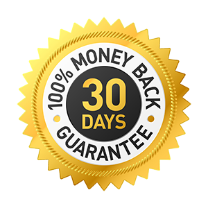 Our 30-day money back guarantee
